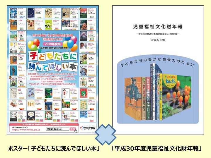 「子どもたちに読んでほしい本」ポスターおよび児童福祉文化財年報のご案内